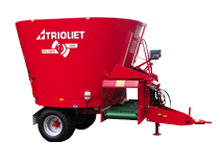Feed mixers, diet feeders and feeding robots | TRIOLIET